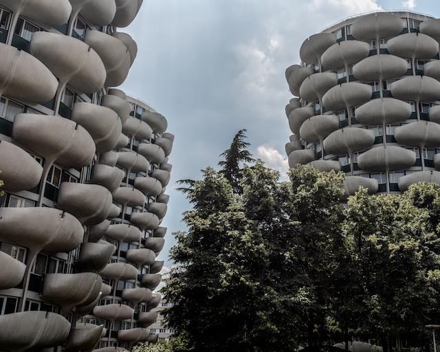 Les tours choux à Créteil / © Jean-Fabien Leclanche pour Enlarge your Paris