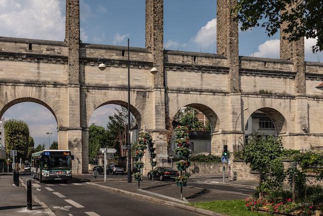 L'aqueduc Médicis à Arcueil-Cachan / © Jean-Fabien Leclanche pour Enlarge your Paris