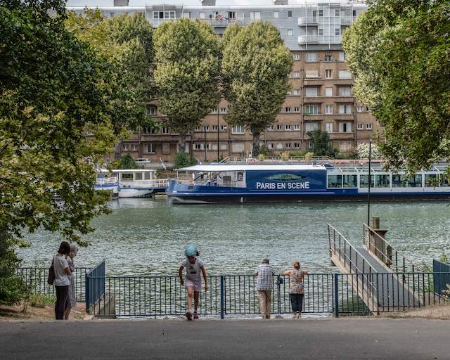 L'Île Saint-Germain à Issy / © Jean-Fabien Leclanche pour Enlarge your Paris