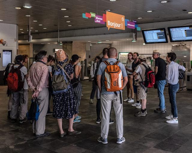 Gare de Créteil / © Jean-Fabien Leclanche pour Enlarge your Paris