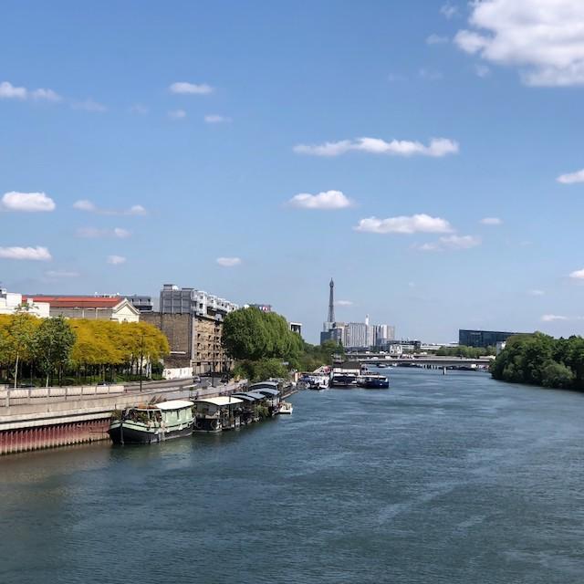 La Seine entre Boulogne et Issy / © Jean-Fabien Leclanche pour Enlarge your Paris