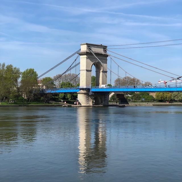 Le pont de Port-à-l'Anglais entre Vitry et Alfortville / © Jean-Fabien Leclanche pour Enlarge your Paris