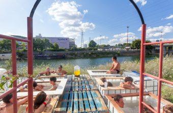 Superfluides réintroduit les bains chauds collectifs en ville