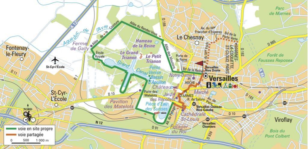 Itinéraire du parc de Versailles, Yvelines (C) Le Routard