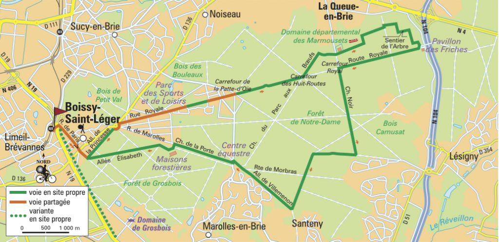 Itinéraire de la forêt de Notre-Dame, Val-de-Marne (C) Le Routard