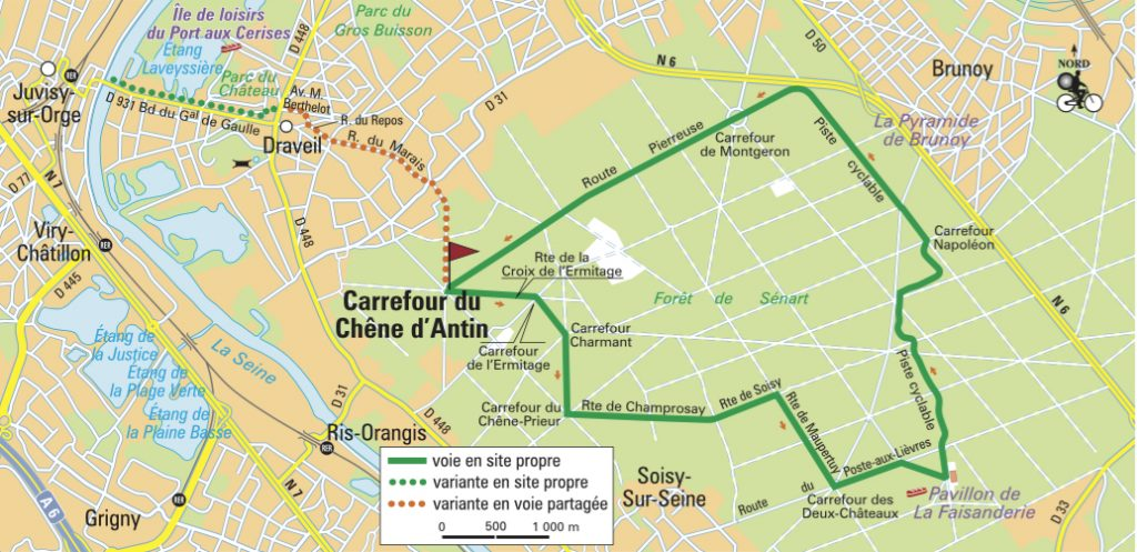 Itinéraire de la forêt de Sénart, Essonne (C) Le Routard