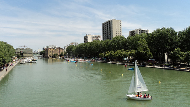 Le bassin de la Villette dans le 19e qui accueille la 11e édition de Culture au quai / © ErasmusOfParis - Flickr - creative commons