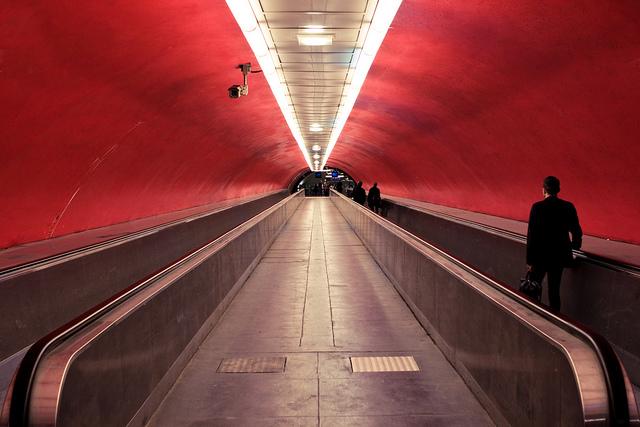 Les couloirs du métro / © Agent X - Flickr - creative commons