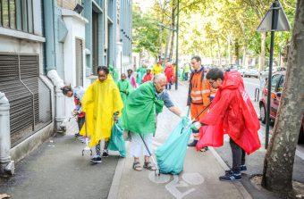 Samedi, nettoyez la maison commune pour le World CleanUp Day
