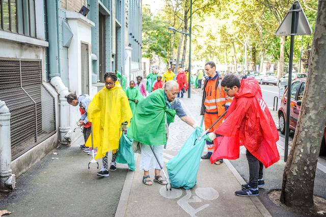 Journée de la propreté à Clichy / © Ville de Clichy