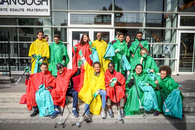 Volontaires pour une collecte de déchets à Clichy / © Ville de Clichy
