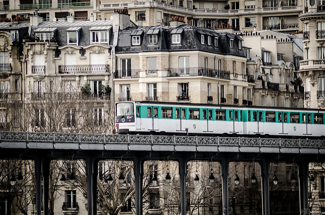 La ligne 6 du métro à Paris / © Tiomax80 - Flickr - creative commons