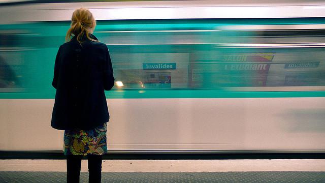 Le métro parisien / © Unicellular - Flickr - creative commons