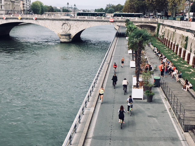 Les voies sur berges à Paris / ©  Steve Stillman pour Enlarge your Paris