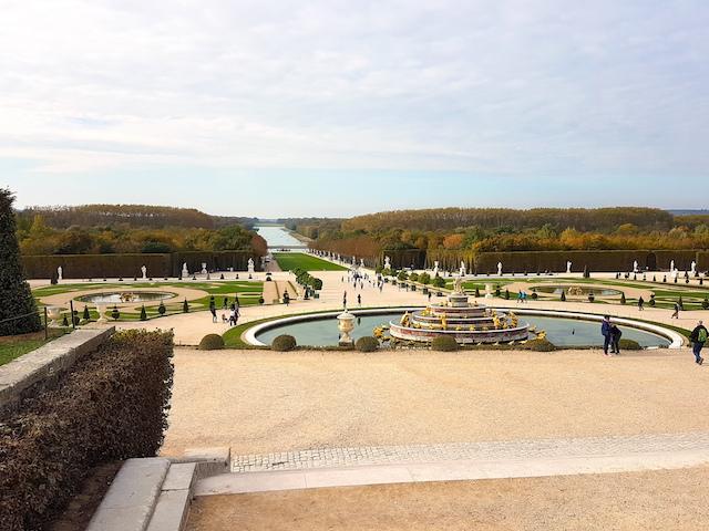 Le château de Versailles accueille les oeuvres du photographe japonais Hiroshi Sugimoto jusqu'en février / © Mona Prudhomme pour Enlarge Your Paris