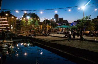 Week-end de fête avant hibernation à la Cité fertile à Pantin