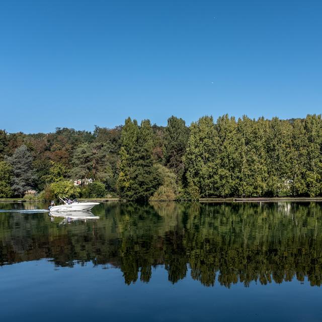 La Seine au Coudray-Montceaux / © Jean-Fabien Leclanche pour Enlarge Your Paris
