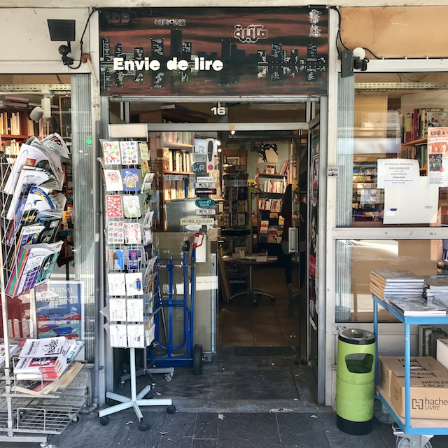 La librairie Envie de lire à Ivry / @ Julie Gourhant alias @legrandparisvudemaminiet @parisla_belle