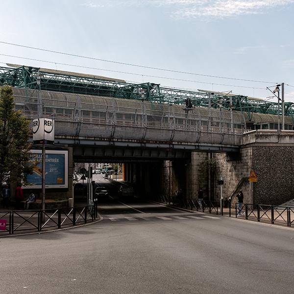 La gare d'Aubervilliers