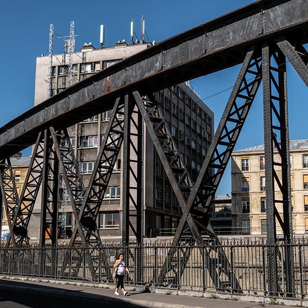Emprise ferroviaire de la gare de l'Est