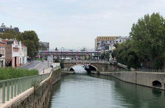 Le long du canal Saint-Denis, de la Villette à la Cité des 4000