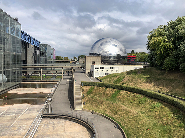 La Géode, parc de La Villette