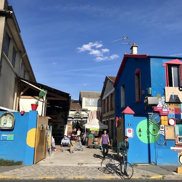 La recyclerie La Pagaille à Ivry / @ Julie Gourhant alias @legrandparisvudemaminiet @parisla_belle