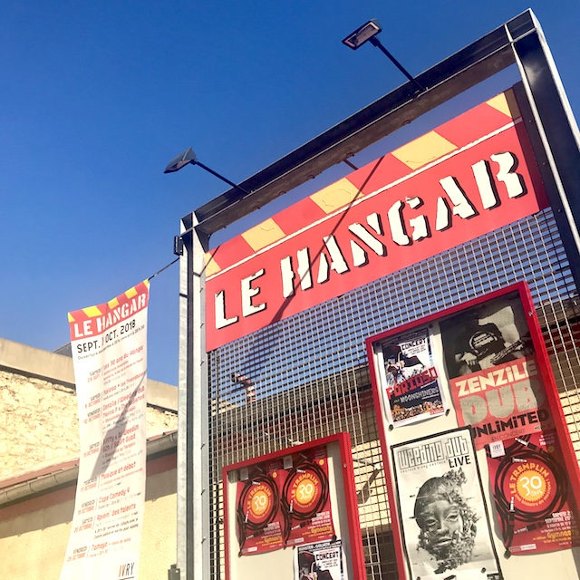 Le Hangar et Le Tremplin à Ivry / @ Julie Gourhant alias @legrandparisvudemaminiet @parisla_belle