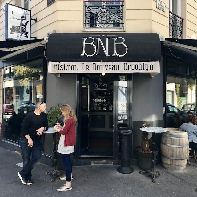 Bistrot Le Nouveau Brooklyn à Ivry / @ Julie Gourhant alias @legrandparisvudemaminiet @parisla_belle