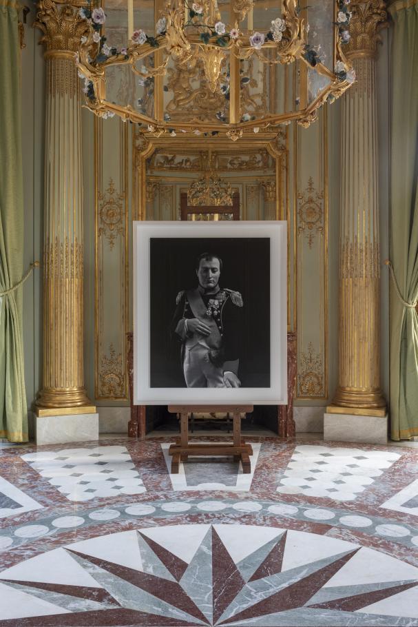 Le portrait de Napoléon par le photographe japonais Hiroshi Sugimoto / ©  Tadzio
