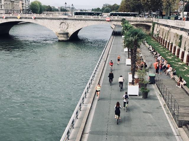 Voie sur berges rive droite à Paris / © Steve Stillman pour Enlarge your Paris