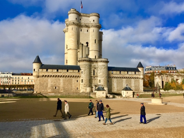 Le donjon du château de Vincennes / © Steve Stillman pour Enlarge your Paris