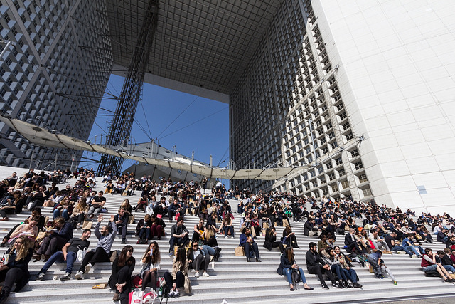 La Grande Arche de La Défense / © Bobo Boom (Creative commons - Flickr)