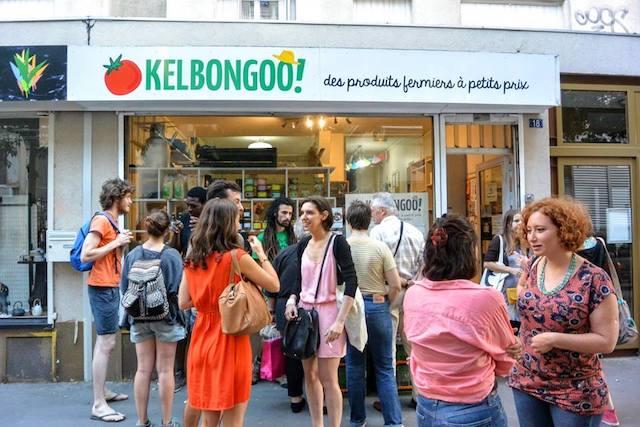 L'épicerie locavore Kelbongoo dans le 19e / © Mona Prudhomme pour Enlarge your Paris