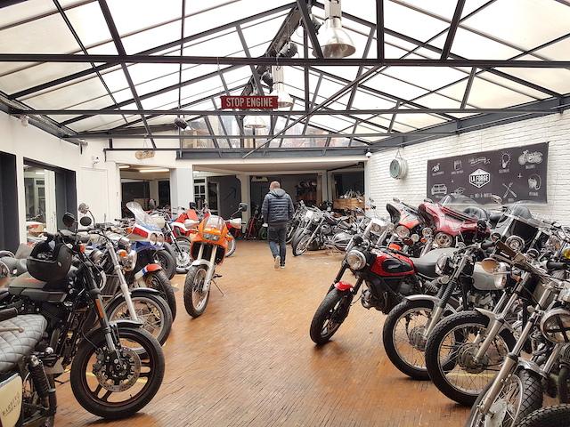 La Forge, repère de bikers à Boulogne / © La Forge