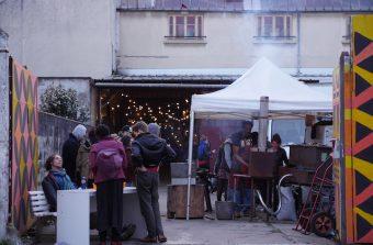 Un samedi dans un squat au Pylos à Vitry