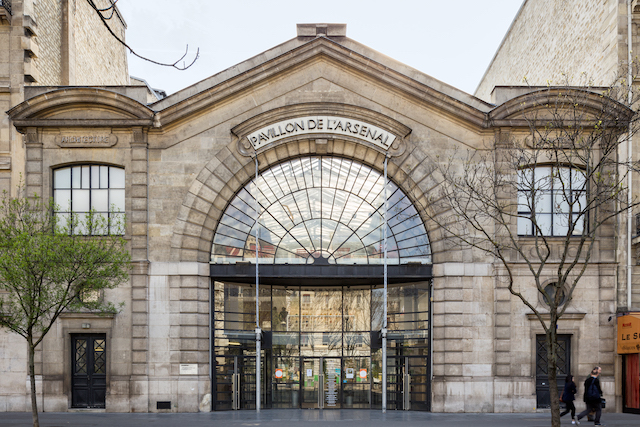 Le Pavillon de l'Arsenal à Paris (4e) / © Pierre Lexcellent