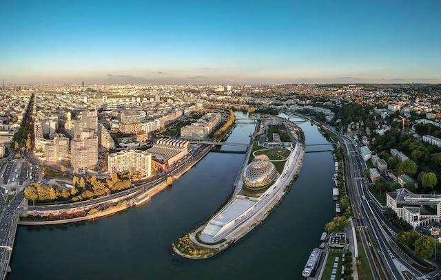 La Seine musicale sur l'île Seguin à Boulogne / © La Seine musicale