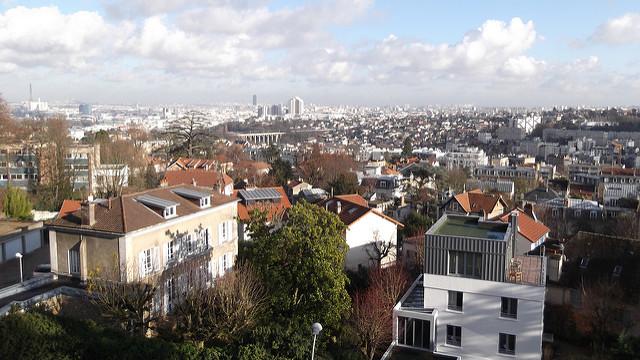 Le panorama depuis la terrasse de l'observatoire de Meudon / © Groume (Creative commons – Flickr)
