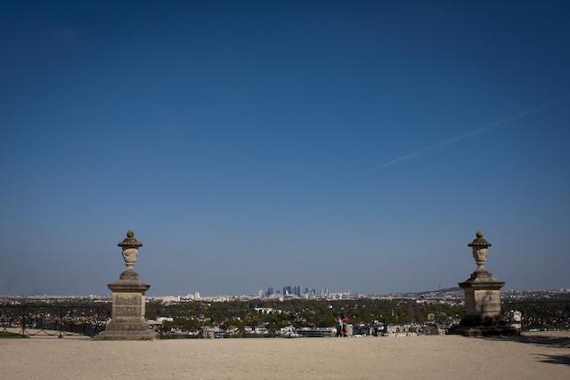 Le panorama depuis la terrasse du château de Saint-Germain-en-Laye / © Saint-Germain Boucles de Seine Tourisme