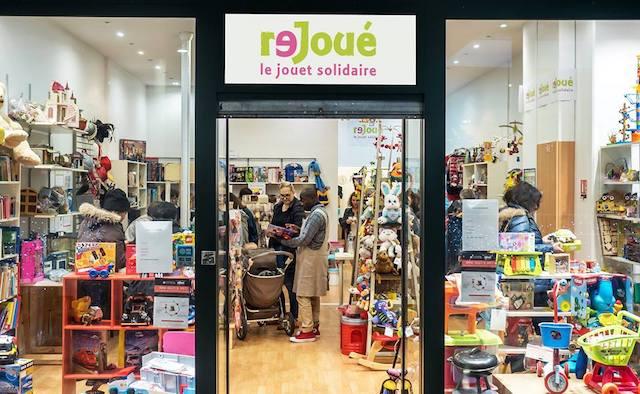 La boutique Rejoué à Paris / © Rejoué