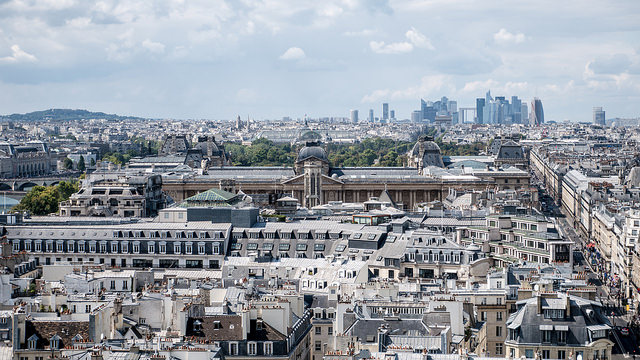Le Grand Paris vu depuis la tour Saint-Jacques à Paris / © Yann Caradec (Creative commons - Flickr)