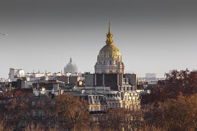Le dôme de l'hôtel des Invalides à Paris (7e) / © Paulo Valdivieso (Creative commons - Flickr)