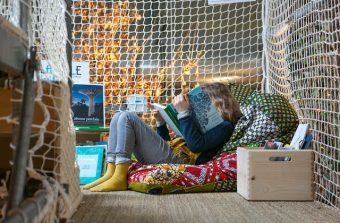 Les architectes Michèle & Miquel installent une cabane en plein coeur de Paris