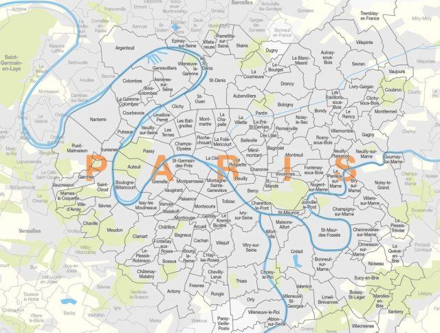 Le Grand Paris, une ville métropole et ses communes-arrondissements / © Pierre-Marie Tricaud