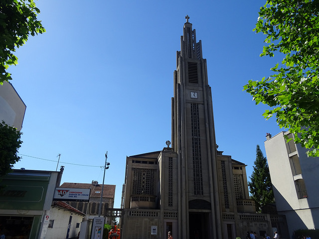 Eglise Notre-Dame du Raincy / © Olive Titus (Creative commons - Flickr)