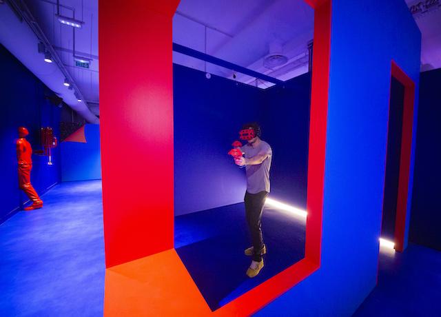 L'espace de réalité virtuelle Illucity à La Villette / © Illucity