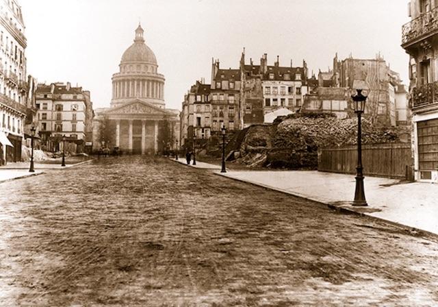 Le Panthéon vu par Charles Marville / © Charles Marville