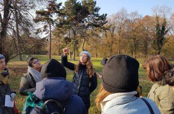 J'ai fait l'école buissonnière avec une naturopathe dans le bois de Vincennes