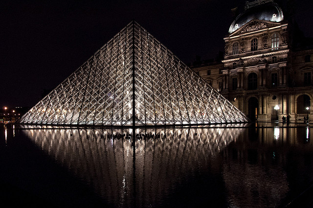 Le Louvre / © Mark Fisher (Creative commons - Flickr)